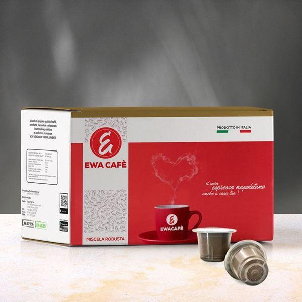 Image sur 100 Dosettes EwaCafe (compatibles Nespresso)
